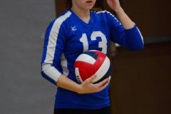CIAC Girls Volleyball; Wolcott vs. Lewis Mills - Photo # (137)