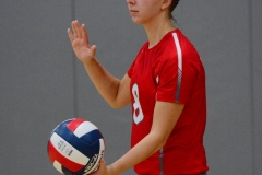 CIAC Girls Volleyball; Wolcott vs. Lewis Mills - Photo # (15)
