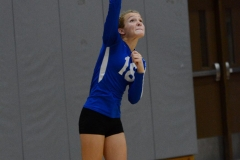 CIAC Girls Volleyball; Wolcott vs. Lewis Mills - Photo # (20)