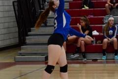 CIAC Girls Volleyball; Wolcott vs. Lewis Mills - Photo # (26)