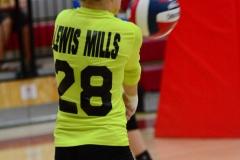 CIAC Girls Volleyball; Wolcott vs. Lewis Mills - Photo # (31)