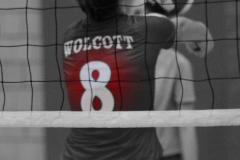 CIAC Girls Volleyball; Wolcott vs. Lewis Mills - Photo # (35)