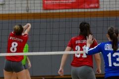 CIAC Girls Volleyball; Wolcott vs. Lewis Mills - Photo # (41)