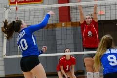 CIAC Girls Volleyball; Wolcott vs. Lewis Mills - Photo # (44)