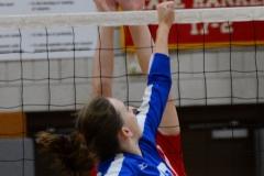 CIAC Girls Volleyball; Wolcott vs. Lewis Mills - Photo # (46)