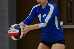 CIAC Girls Volleyball; Wolcott vs. Lewis Mills - Photo # (50)