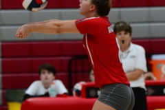 CIAC Girls Volleyball; Wolcott vs. Lewis Mills - Photo # (51)