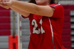 CIAC Girls Volleyball; Wolcott vs. Lewis Mills - Photo # (56)