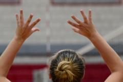CIAC Girls Volleyball; Wolcott vs. Lewis Mills - Photo # (57)