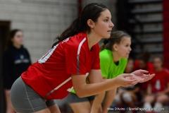 CIAC Girls Volleyball; Wolcott vs. Lewis Mills - Photo # (58)