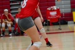CIAC Girls Volleyball; Wolcott vs. Lewis Mills - Photo # (62)