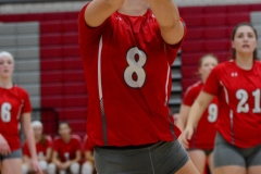 CIAC Girls Volleyball; Wolcott vs. Lewis Mills - Photo # (65)