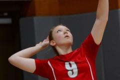 CIAC Girls Volleyball; Wolcott vs. Lewis Mills - Photo # (66)