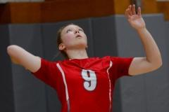 CIAC Girls Volleyball; Wolcott vs. Lewis Mills - Photo # (67)