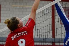 CIAC Girls Volleyball; Wolcott vs. Lewis Mills - Photo # (68)