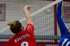 CIAC Girls Volleyball; Wolcott vs. Lewis Mills - Photo # (69)