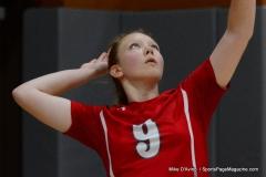 CIAC Girls Volleyball; Wolcott vs. Lewis Mills - Photo # (70)