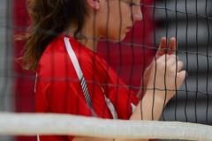 CIAC Girls Volleyball; Wolcott vs. Lewis Mills - Photo # (74)