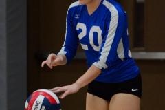 CIAC Girls Volleyball; Wolcott vs. Lewis Mills - Photo # (76)