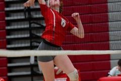 CIAC Girls Volleyball; Wolcott vs. Lewis Mills - Photo # (84)