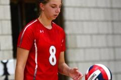 CIAC Girls Volleyball; Wolcott vs. Lewis Mills - Photo # (88)