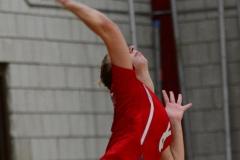 CIAC Girls Volleyball; Wolcott vs. Lewis Mills - Photo # (90)