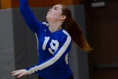 CIAC Girls Volleyball; Wolcott vs. Lewis Mills - Photo # (94)