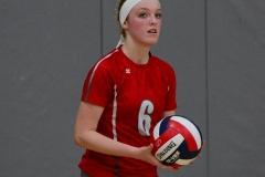 CIAC Girls Volleyball; Wolcott vs. Lewis Mills - Photo # (99)