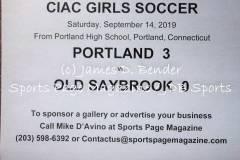 Gallery CIAC GSOC: Portland 3 vs. Old Saybrook 0