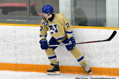 CIACT D3 Ice Hockey; #8 Newtown 7 vs. #9 Wilton 2 - Photo # 1462