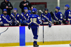 CIAC Ice Hockey; L.H.- H-K, Cogin. 8 vs Newtown 1 - Photo # (1017)