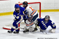 CIAC Ice Hockey; L.H.- H-K, Cogin. 8 vs Newtown 1 - Photo # (286)