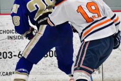 CIAC Ice Hockey; L.H.- H-K, Cogin. 8 vs Newtown 1 - Photo # (312)
