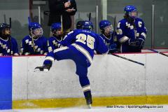 CIAC Ice Hockey; L.H.- H-K, Cogin. 8 vs Newtown 1 - Photo # (346)