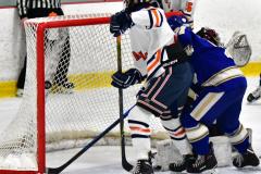 CIAC Ice Hockey; L.H.- H-K, Cogin. 8 vs Newtown 1 - Photo # (530)