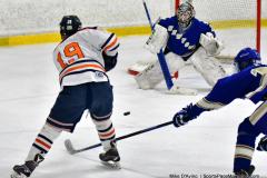 CIAC Ice Hockey; L.H.- H-K, Cogin. 8 vs Newtown 1 - Photo # (549)