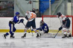 CIAC Ice Hockey; L.H.- H-K, Cogin. 8 vs Newtown 1 - Photo # (618)
