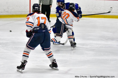 CIAC Ice Hockey; L.H.- H-K, Cogin. 8 vs Newtown 1 - Photo # (712)