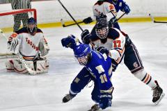 CIAC Ice Hockey; L.H.- H-K, Cogin. 8 vs Newtown 1 - Photo # (718)