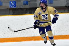 CIAC Ice Hockey; Newtown 2 vs. Daniel Hand 6 - Photo # 826
