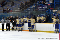 CIAC Ice Hockey; Newtown 2 vs. Daniel Hand 6 - Photo # 912