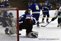 Gallery CIAC Ice Hockey; Northeastern 4 vs. Newtown 3 - Photo # 671