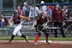 CIAC Softball Class L Tournament SF's #1 Pomperaug 5 vs. #4 Torrington 1 - Photo (100)
