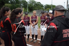 CIAC Softball Class L Tournament SF's #1 Pomperaug 5 vs. #4 Torrington 1 - Photo (3)