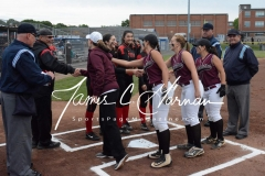CIAC Softball Class L Tournament SF's #1 Pomperaug 5 vs. #4 Torrington 1 - Photo (4)