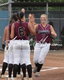 CIAC Softball Class L Tournament SF's #1 Pomperaug 5 vs. #4 Torrington 1 - Photo (7)