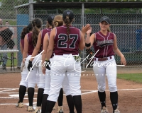CIAC Softball Class L Tournament SF's #1 Pomperaug 5 vs. #4 Torrington 1 - Photo (8)
