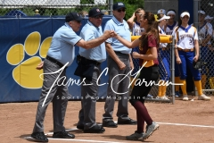 CIAC Softball Class M State QF - #4 Seymour 2 vs. #5 Granby Memorial 3; Photo (4)