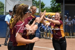 CIAC Softball Class M State QF - #4 Seymour 2 vs. #5 Granby Memorial 3; Photo (9)