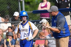 CIAC Softball Class M Tournament Finals #4 Seymour 4 vs. #7 North Branford 3 - Part 2 - Photo (46)